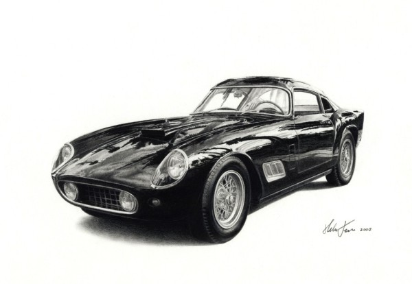 Ferrari 250 GT + kontrast2