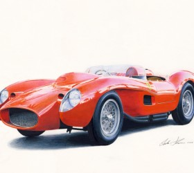 Ferrari testarossa prototipo