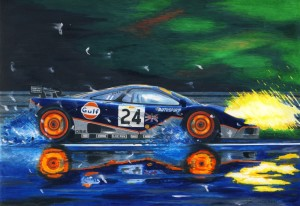 Gulf mclaren F1