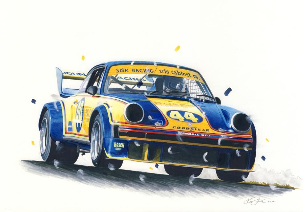 IMSA Porsche 934