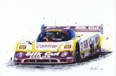 Jaguar XJR 9 silk cut