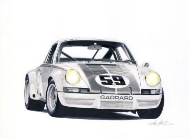 Porsche 911 RSR 73