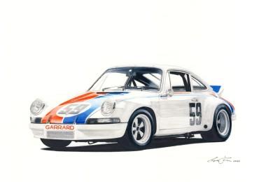 Porsche 911 RSR 73.2