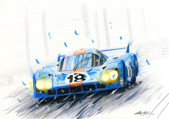 Gulf Porsche 917LH