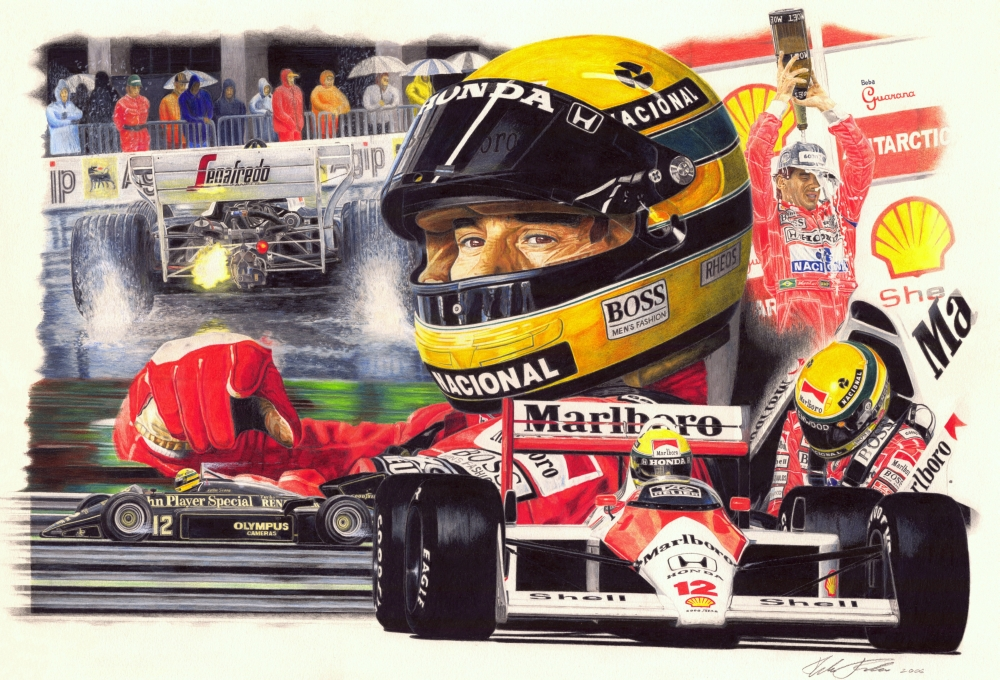 Senna Tribute