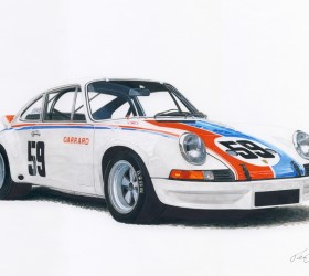 Brumos Porsche 59s