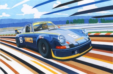 Sunoco Porsche 911 RSR s