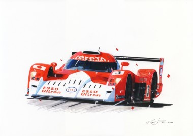 Toyota GT-one s