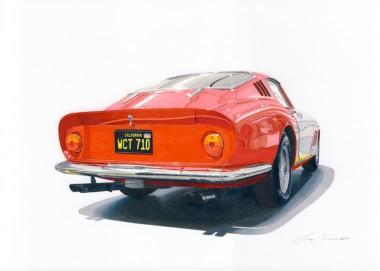 Mcqueen Ferrari 275 GTBs
